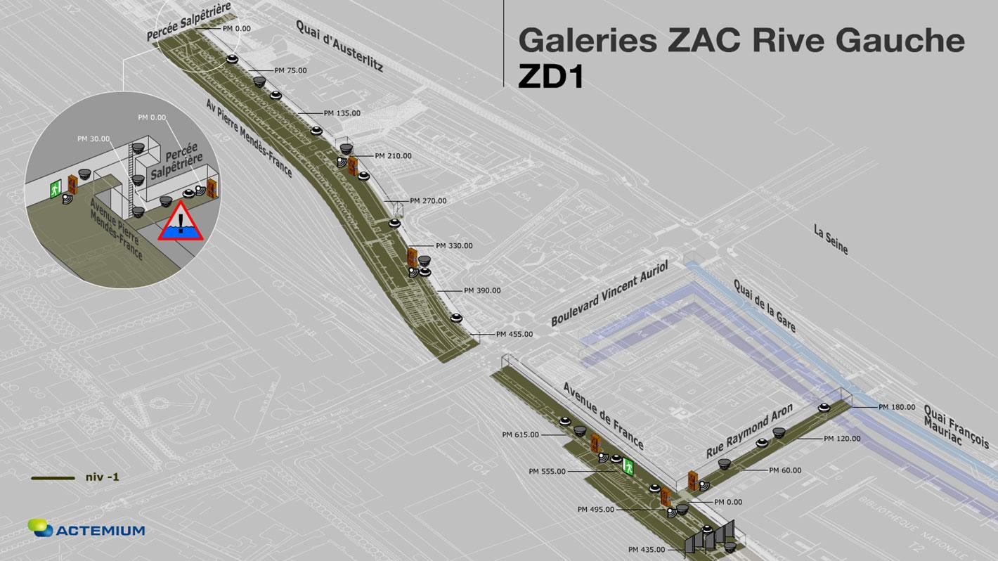 ZAC Rive Gauche Galerie ZD1