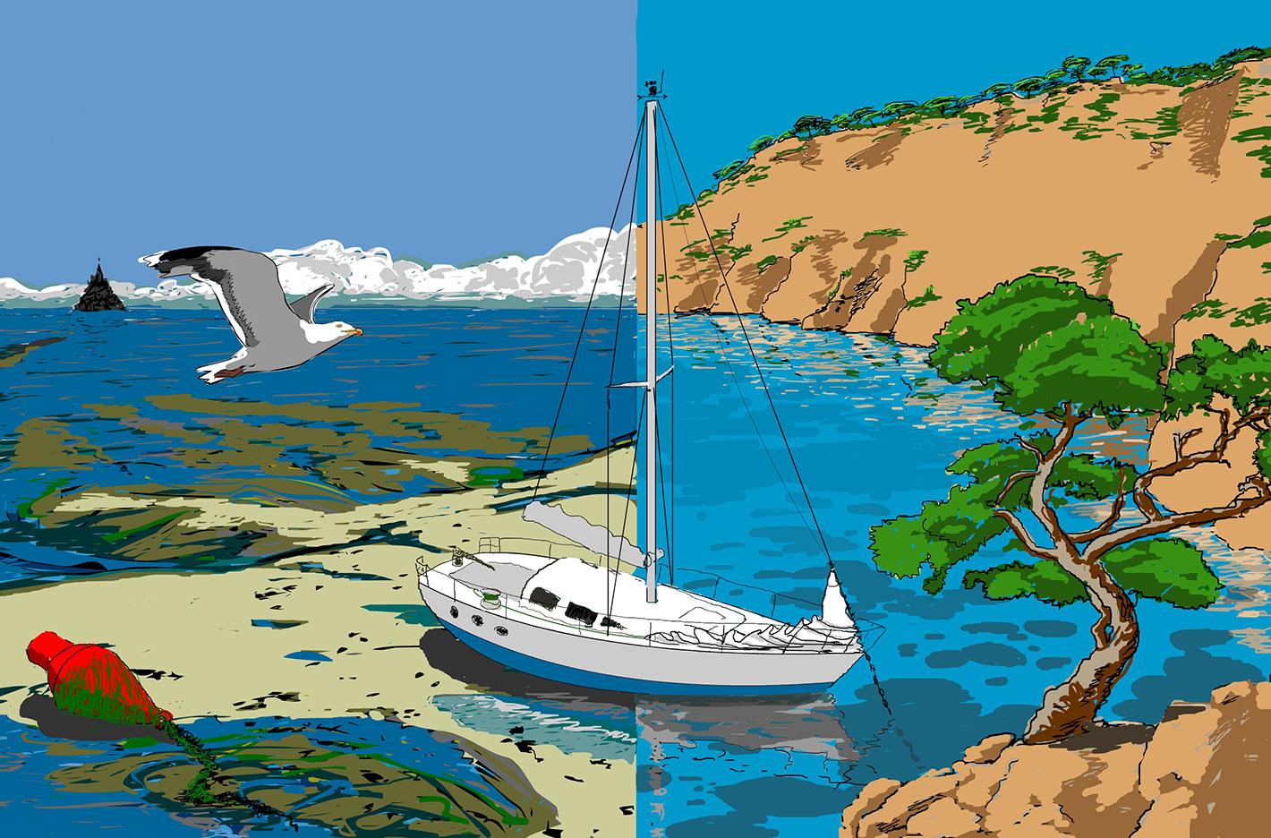 Atlantique ou Méditerranée