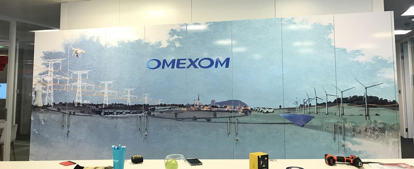 fresque Omexom