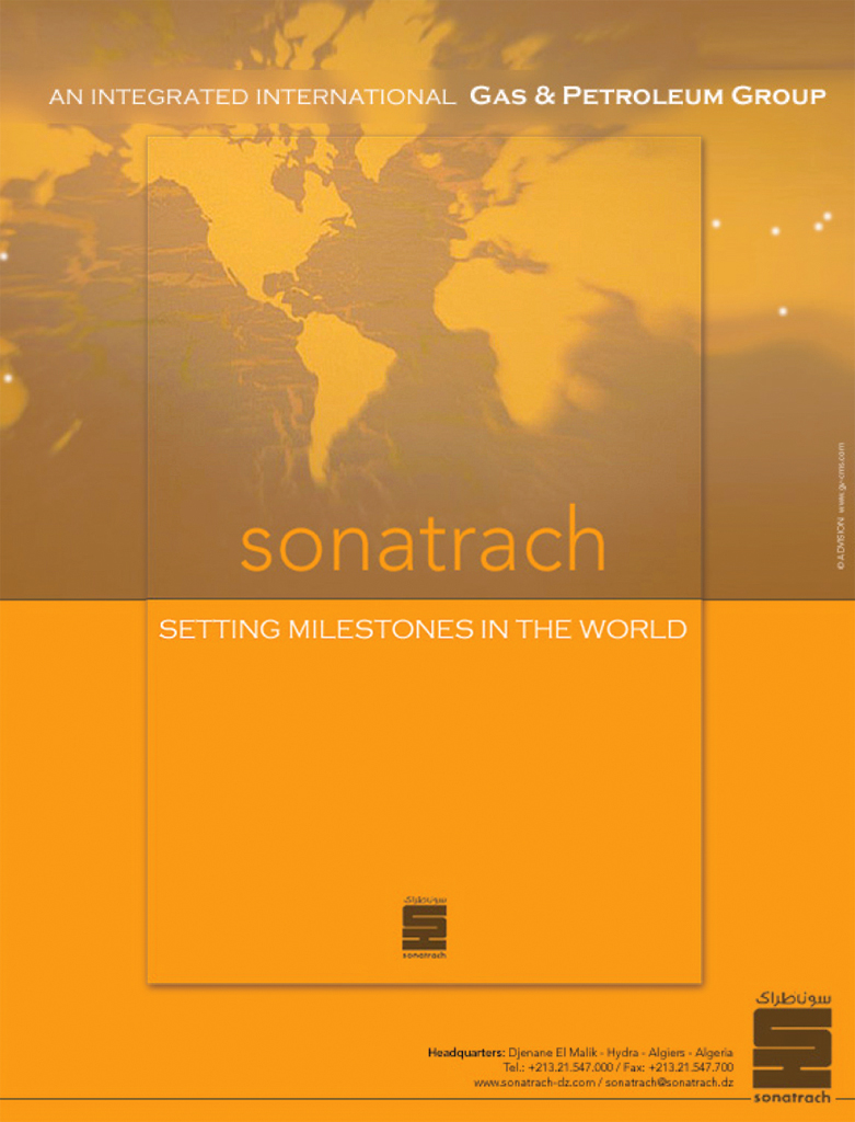 affiche et lealflet Sonatrach